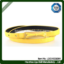 Newly Design Butterfly Kids Fashion Real Leather Belt Ladies Belts