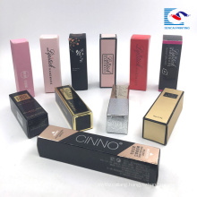 custom luxury printed liquid lipstick make up gift packaging box