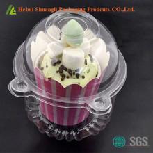 अलग-अलग प्लास्टिक कप केक बक्से थोक