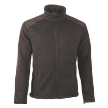 Veste polaire en JERSEY HEATHER