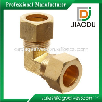 Brass Compression Tube Fitting 90 Degree Male Elbow