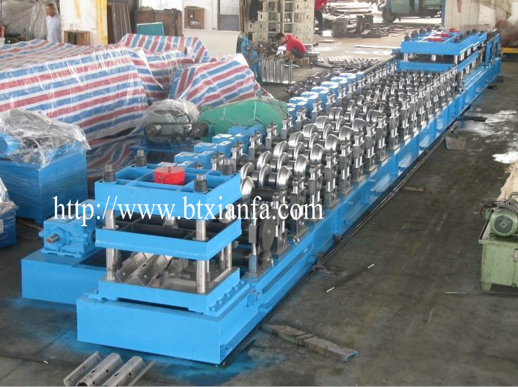guardrail machine