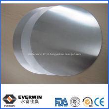 Círculo redondo de alumínio 1050 O
