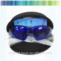 El láser del diodo 808nm protege el sistema de depilación del vello de las gafas