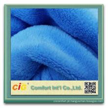 Tecido de lã Coral Micro de cobertores de alta qualidade