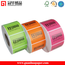 Tipo de adesivo adesivo e etiqueta de embalagem do material de papel