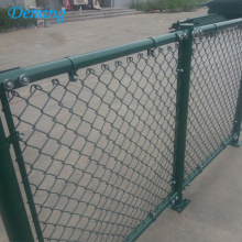 PVC-belagd 60MM Chain Link Playground Fence