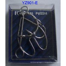 Pièces de puzzle en métal