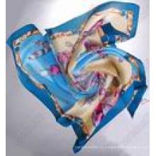 Шелковый шарф новый 3