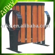 Good quality Wooden Outdoor Rubbish Bin