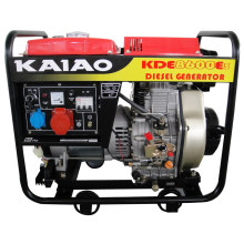 6kw /6.5kw CE Diesel Generator Set Kaiao Brand Steady Excellent Performance