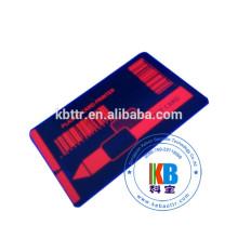 Impressora de cartões de identificação compatível P330i amarelo azul tinta vermelha térmica fita uv de 1000 imagens vermelho invisível uv