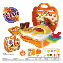 Boutique Playhouse brinquedo de plástico para fazer uma pizza