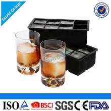 Bandeja de rotulagem do cubo de gelo do silicone do produto comestível confidencial