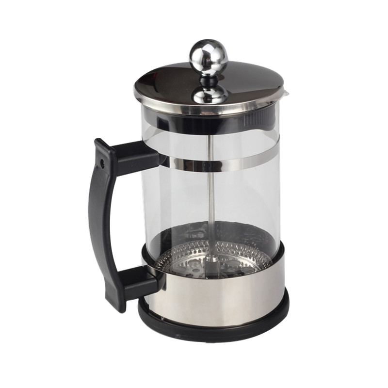 Professional Plastic Handle Glass Tea Maker