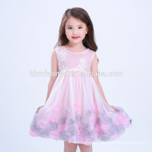 2017 New Arrival Baby Girls Lace Puffy Dress Baby Girls Birthday Party Dress For Summer Dress Baby Girl