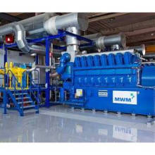 400/600/800kw Mwm Natural Gas Generator Set for Power Plant