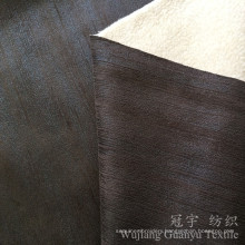 Printed Suede 100% Polyester Compound with Goat Fleece