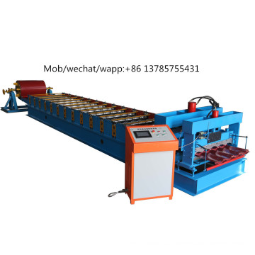Hot Sale Roofing Color Steel Glazed Tile Roll Forming Machinery With Good Quality