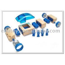 Modelo de coche de madera