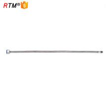 J17 4 13 27 mangueira trançada de gás natural polonês tubo de mangueira de metal flexível de aço inoxidável