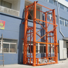 Sjd Hydraulic Guide Rail Lift Platform