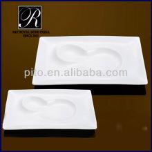 special rectangular ceramic plates PT-1998