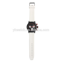New Fashion Silicone Watches Black Men Sport Watch Student Boy Quartz Watch