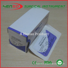 Henso surgical suture without needle