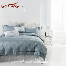 Panton color customized elastic around anti dust and mite fitted fitted bed sheet with zipper