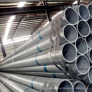 Tubo de aço galvanizado por imersão a quente Q195-Q235