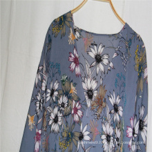 Women's fashion flower print Shawl With sleeves can be clothes or summer outdoor sunscreen cappa