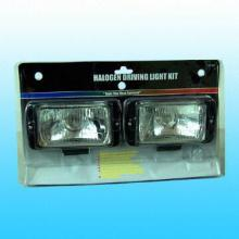 Halogen Amber Fog Light Kit with 15A Fuse Impact-resistant