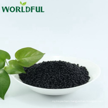 Black granular bio micro organic compound fertilizer NPK 13-1-2