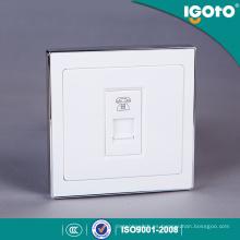 Tomacorriente de pared para teléfono eléctrico Igoto B9074 Rj11