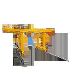 45 ton Movable cabin control double girder container gantry crane with cantilever