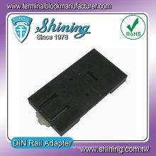 DRA-2 UL 94HB Bloque de fusibles Din Rail Adapter