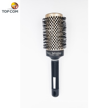 Nano Ceramic Round Barrel Hair Brush with Natural Boar Bristles for Blow Drying Boar Bristle Round Hair Brush