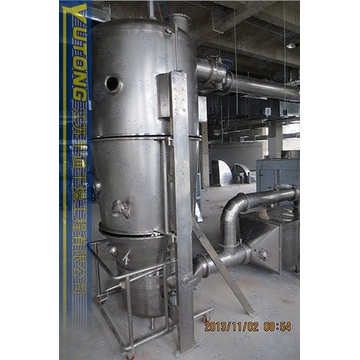 fluidized bed granulator in pigment dyestuff