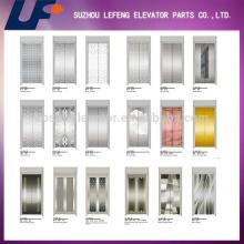 Lift door parts Stainless Steel elevator door panel