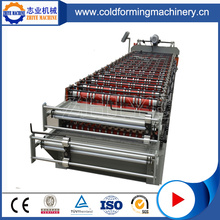 Iron Double Layer Takplatta Roll Forming Machine