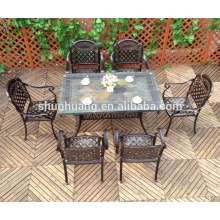 Good price restaurant furniture bistro chair and table metal dining sets