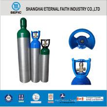 6.3L Small Portable Medical Oxygen Aluminum Gas Cylinder