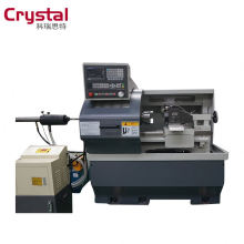 New GSK system cnc lathe machine for sale with 4 station tool holder CK6132A