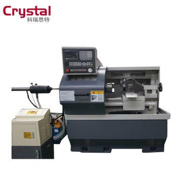 Nueva máquina de torno CNC de sistema GSK para la venta con 4 estación portaherramientas CK6132A