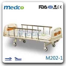 Горячая продажа King Size 2 Rocker Ручной тип Nursing Hospital Bed M202
