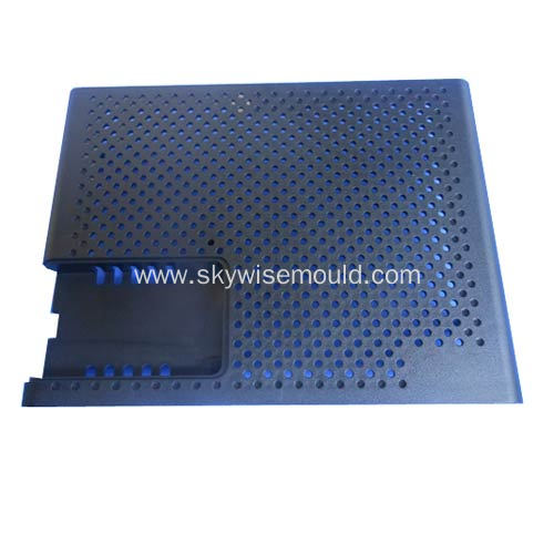 Plastic injection molding for computer mainframe cover