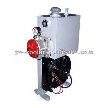 Refrigerador / radiador de óleo da ventilação da profissão da CC 12v / 24v com ventilador