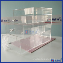 Customized 4 Tiers Acrylic Makeup Drawer
