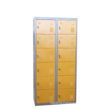 Yellow Low Price Metal Steel Locker